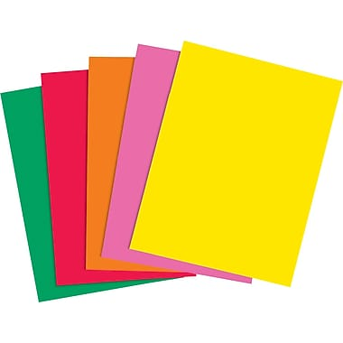 "Bright Multi Purpose Copy Paper Yellow - 8.5''x11"" - 500sh/pkg - IT210"