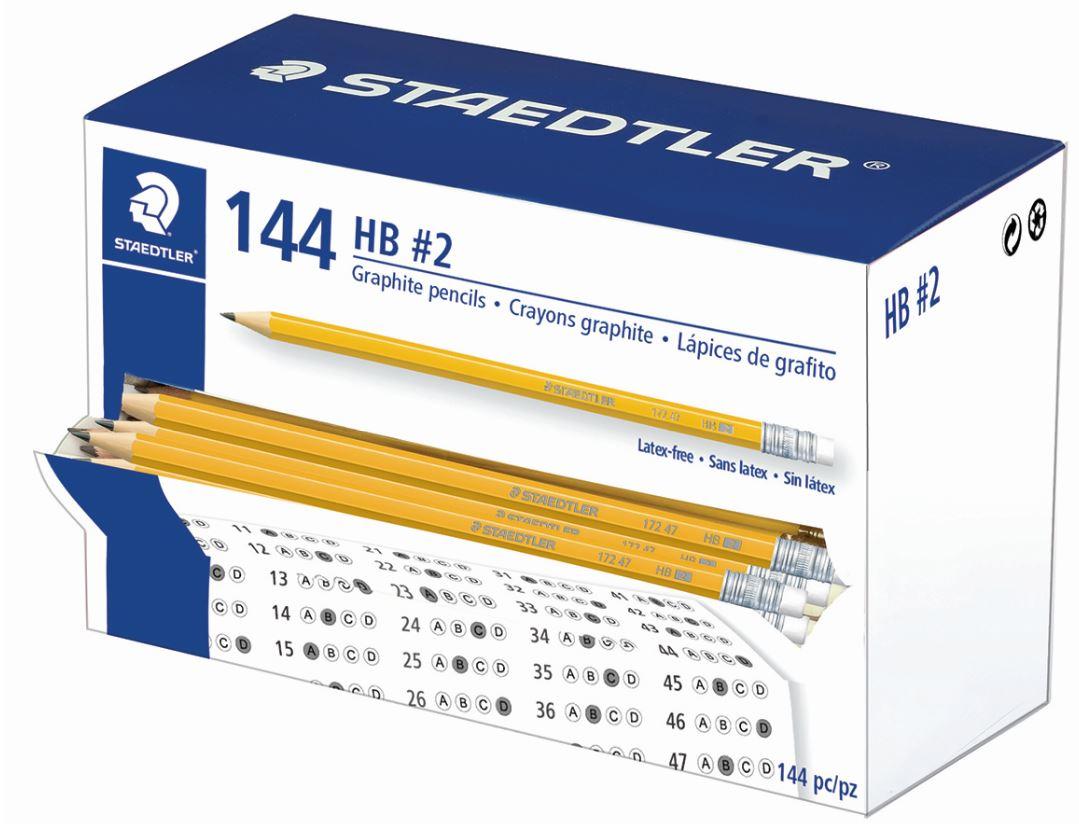 Staedtler HB Pencils - Classpack of 144