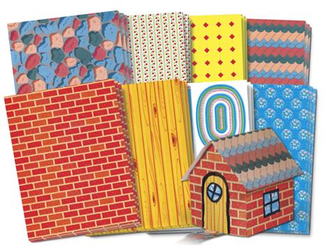 "Roylco 15313 Building Design Paper - 8.5"" x 11"""