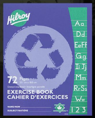 "Hilroy 12152 Exercise Books Interlined (72pgs) - 7"" x 9"""