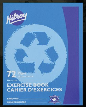 "Hilroy 12154 Exercise Books Plain (72pgs) - 7"" x 9"""