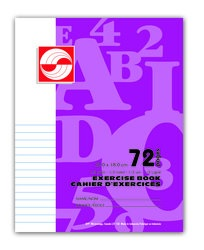 APP Canada Exercise Book 1/2 Ruled - 7''x9'' - 72pgs - 01118