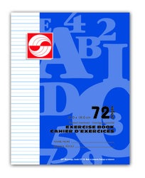 APP Canada Exercise Book Interlined  - 7''x9'' - 72pgs - 01127