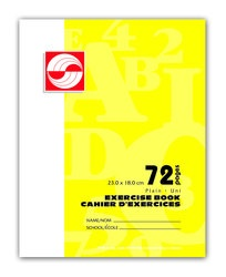 APP Canada Exercise Book Plain  - 7''x9''  - 72pgs - 01119
