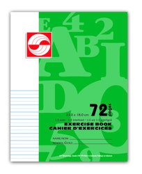 APP Canada Exercise Book 1/2 Interlined - 7''x9'' - 72pgs - 01117