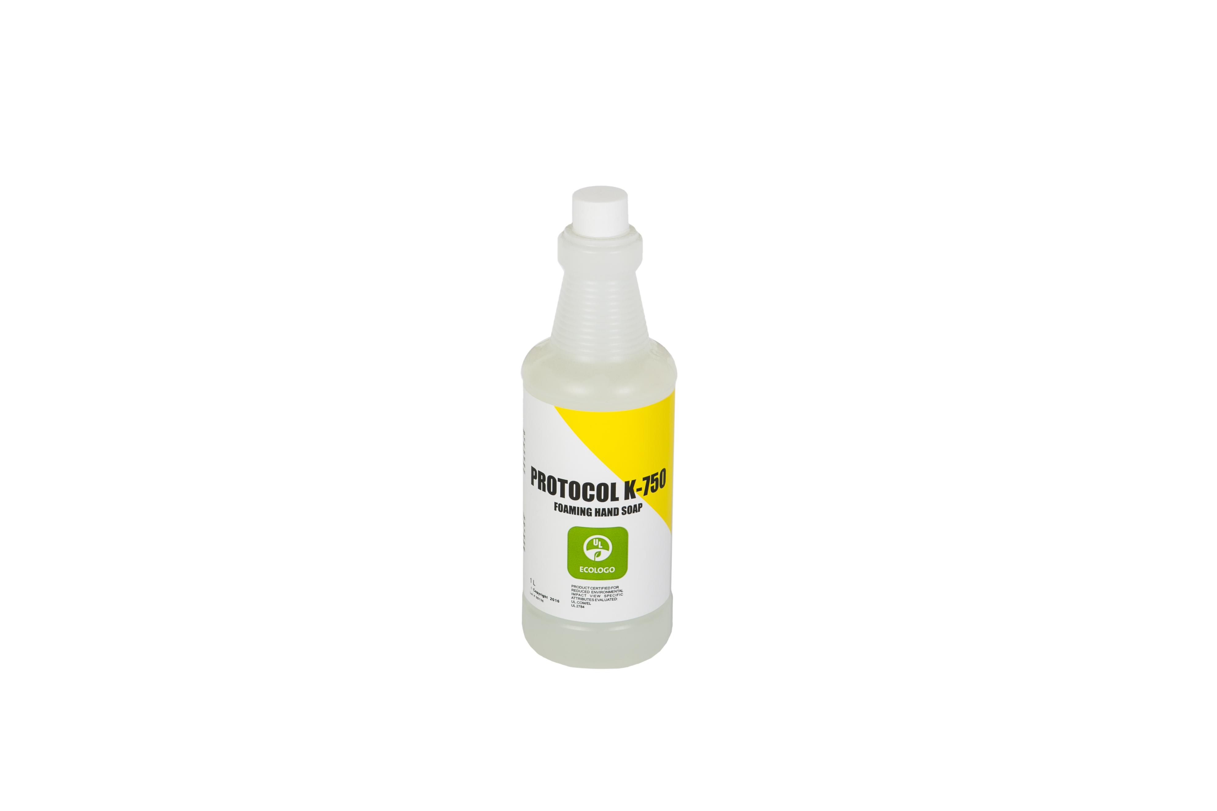 Protocol K-750 UL Eco Certified Foaming Hand Soap - 1 Litre