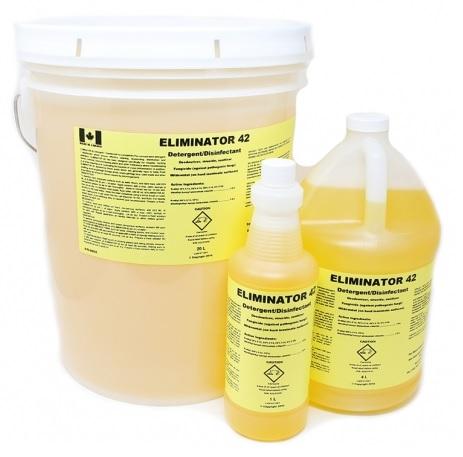 Eliminator 42 Disinfecant - 4 Litre bottle