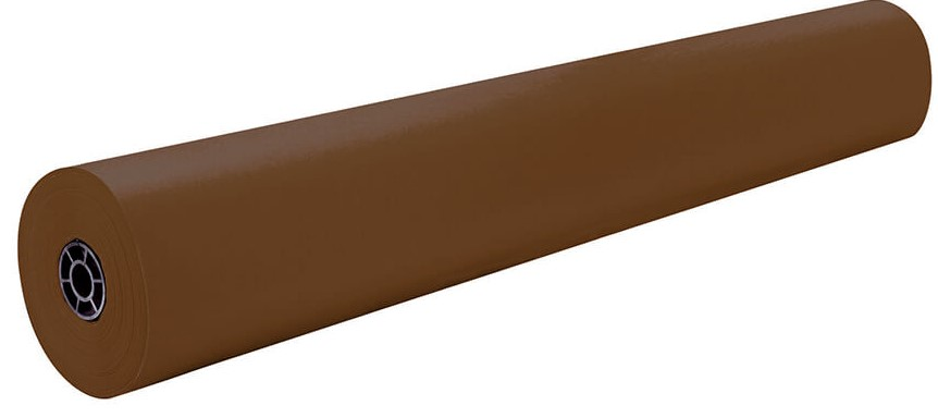 "1380 132C Brown Bonanza Construction Roll - 36"" x 1000'"