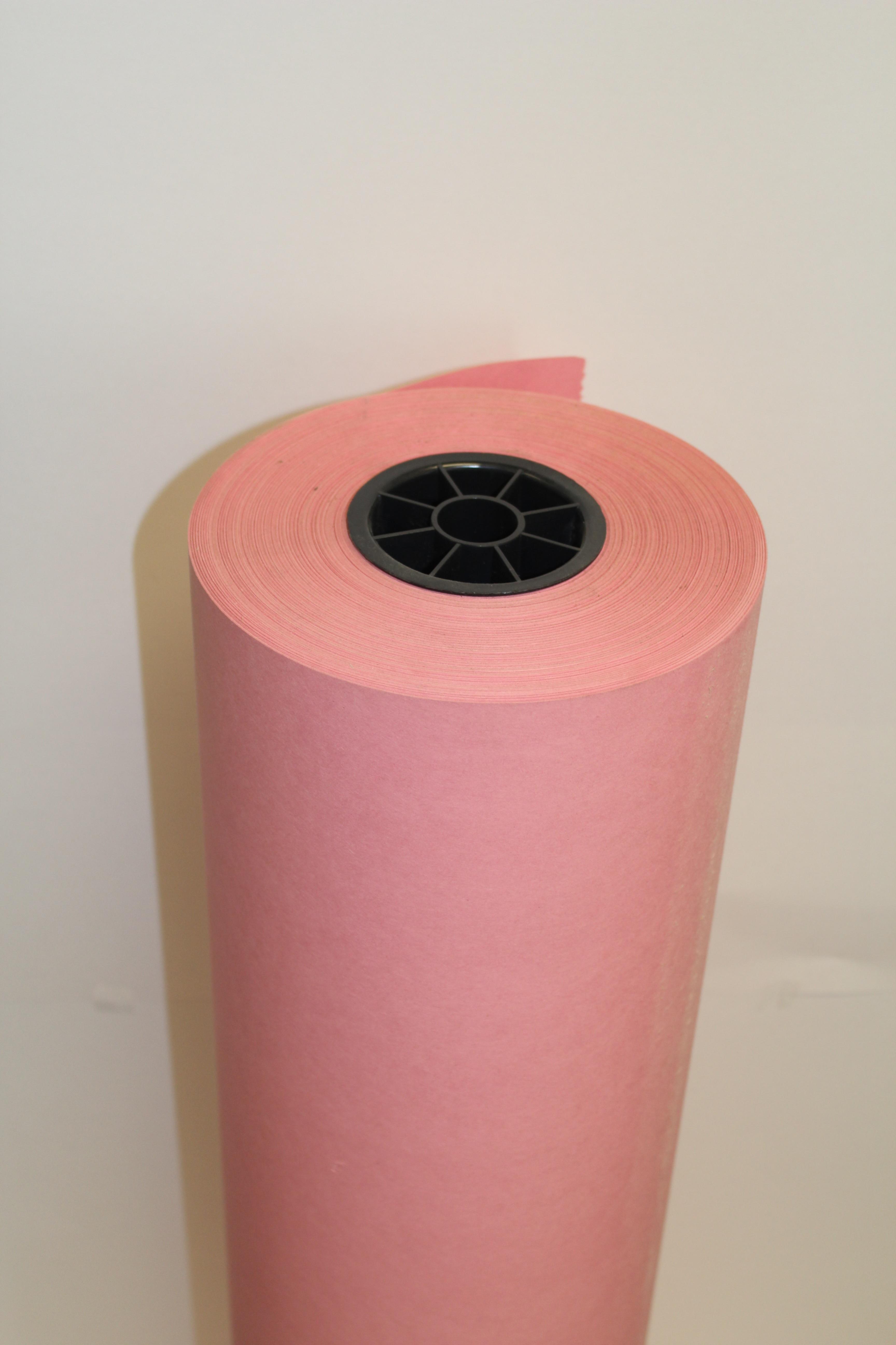 "Pacon 63260 Pink Rainbox Kraft Roll - 36"" x 1000'"