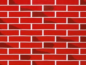 "Pacon 56475 Fadeless Paper Rolls Brick - 48"" x 50'"