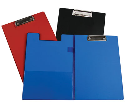 1047 School Source Vinyl Clipboard with Cover Black