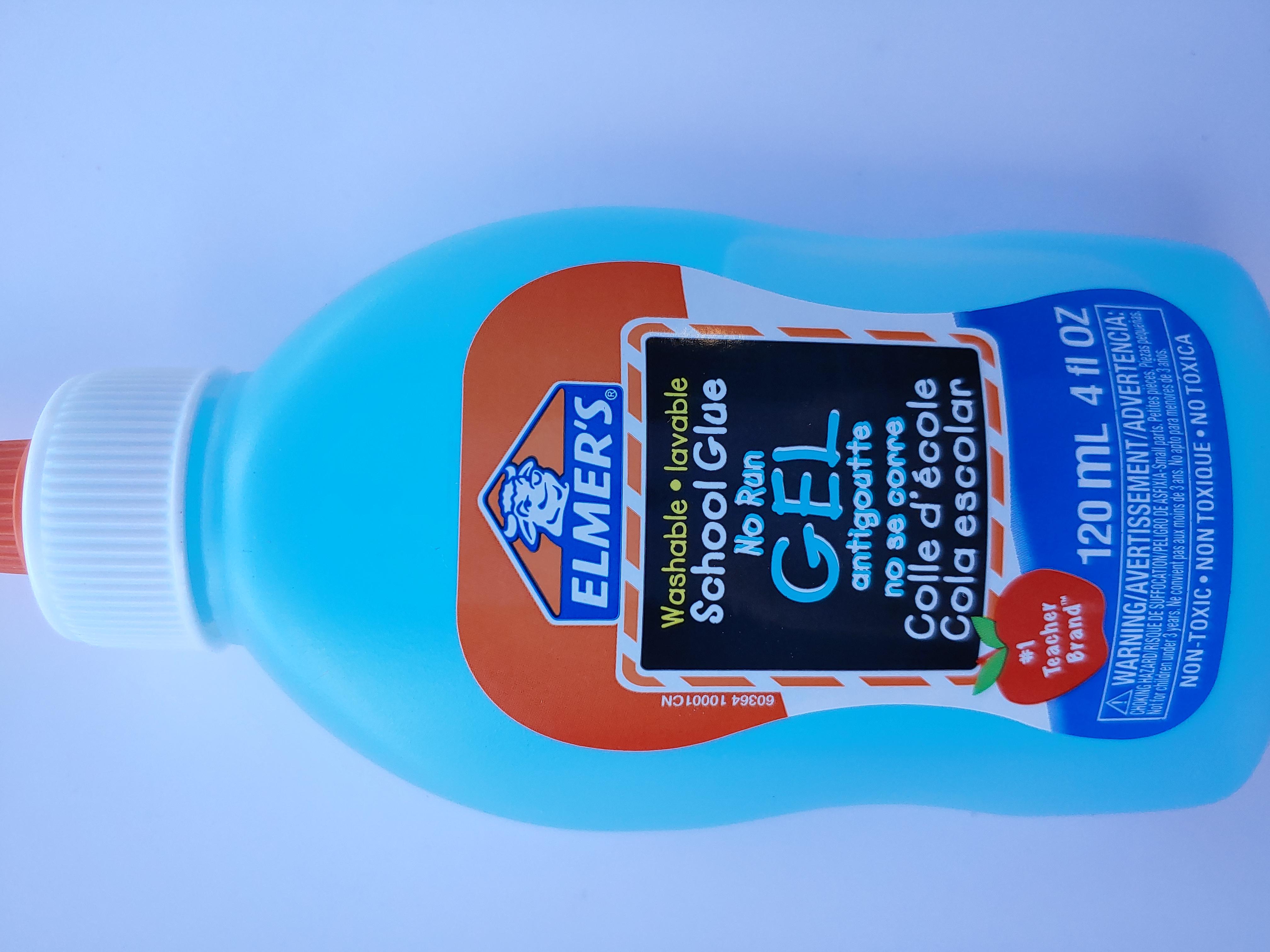 Elmers No-Run School Gel Glue 120 ml 60364Q