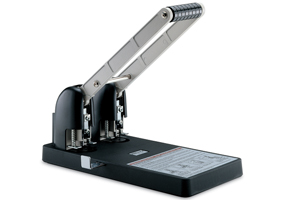 KW trio 952 Metal Power Paper Punch (150 Sheets) - 2 Hole