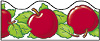 "Trend T92352(92056) Terrific Trimmers Apples - 2 1/4"" x 39"""