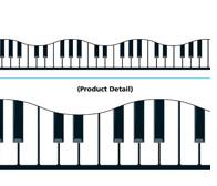 """Trend T92348 Terrific Trimmers Musical Keyboards - 2 1/4"""" x 39"""""""