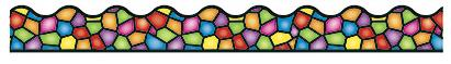 """Trend T92136 Terrific Trimmers Stained Glass - 2 1/4"""" x 39"""""""