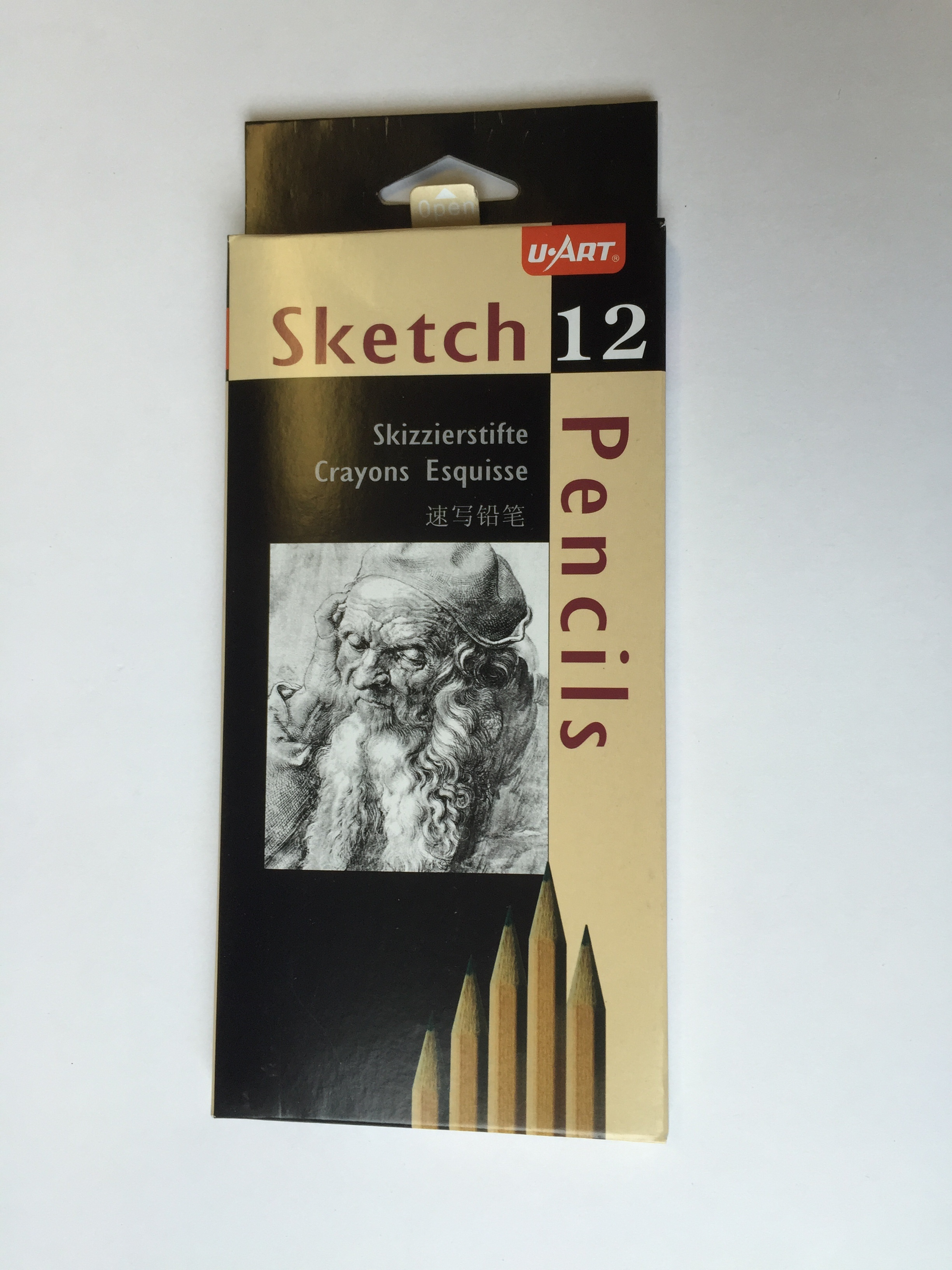 School Source Drawing Pencil - 3B - 12/pack