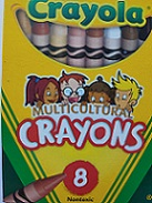Crayola 521733 Crayons  Colors of the World 24/pkg