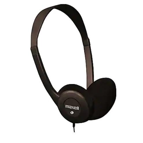 Maxell HP100 Computer/Stereo Headphones