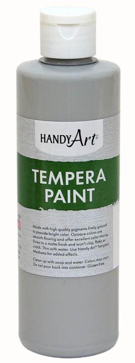 Handy Art 201060 Premium Tempera Paint Gray - 16 oz