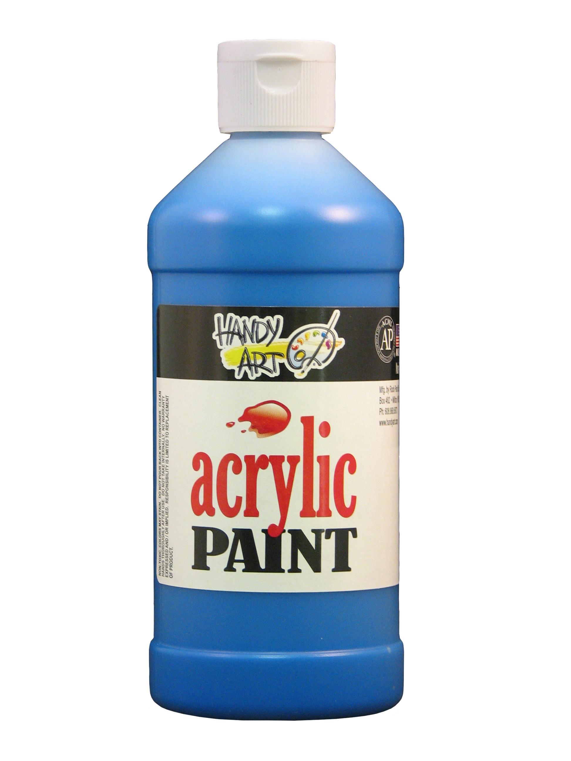 Handy Art 101065 Acrylic Paint Blue - 16oz