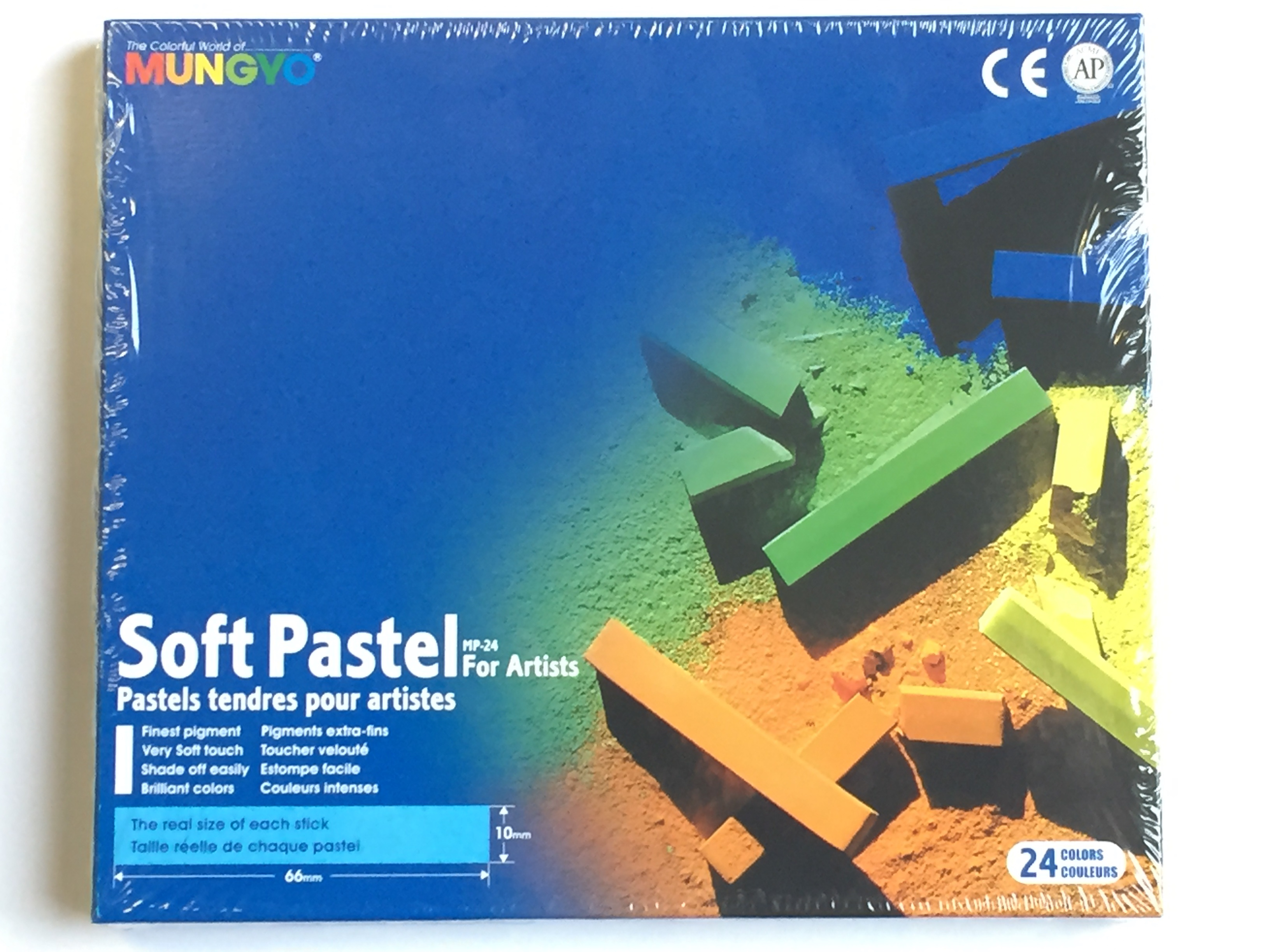 Mungyo MP24 Chalk Pastels Premium Soft