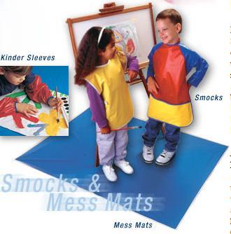 "Peerless 825 Mess Mat to Protect Floor - 42"" x 54"""