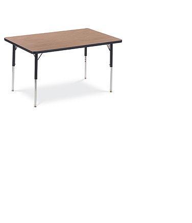 "Rectangle Table Adjustable Legs #483048 - 30"" x 4 -"