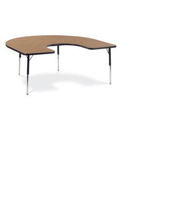 Horseshoe (4872) Table #48HORSE60 - 60 x 66 -